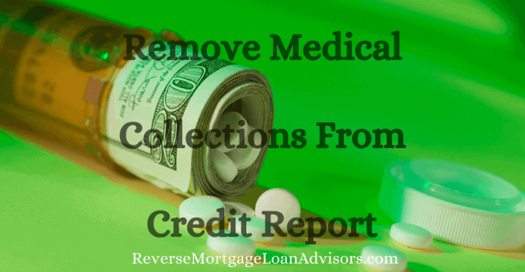 Removing Medical Collections from Credit Report