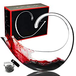 Le Sens Scorpion Lead Free Crystal Red Wine Decanter
