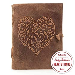 Leather Journal for Women as a retirement gift