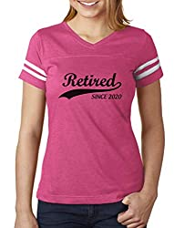 Retired Since 2020 Football Jersey for Women