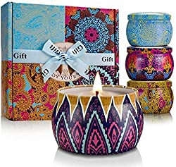 Scented Decorative Candle Set as a retirement present for your favorite gal