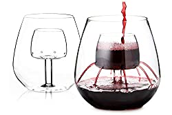 picture of Stemless Aerating Wine Glasses by Chevalier Collection as a really nice retirement party present